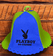 "Шапка для бани Комбо ""Playboy со стажем"""