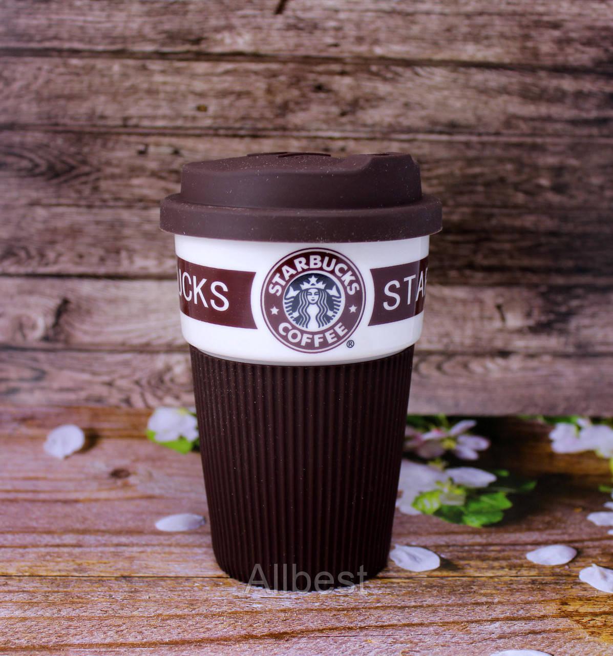 Керамическая термочашка (чашка, стакан) от  Starbucks