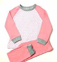Пижама для девочки Сердечки (р.98,104,110,116)