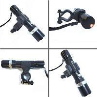 Велосипедный вело фонарик BL-8626 фонарь 30000w с креплением, светодиодный фонарь