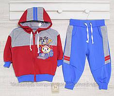 Спортивный костюм детский р 74_80_86,92  Рост,  арт:20,17двн, хлопок-средней плотности , в наличии