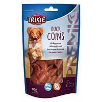 Лакомства для собак TRIXIE Premio Duck Coins с мясом утки 80гр