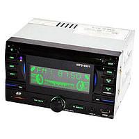 Автомагнитола MP3 USB AUX FM 9901 2DIN с евро разъемом