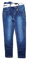 Джинсовые брюки на флисе  для девочек оптом, Seagull  134-164 рр., арт. CSQ-89715