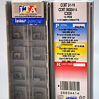 Твердосплавные пластины сменные для резцов CCMT 060204-14 IC3028