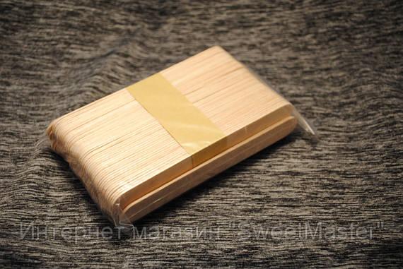 Шпатели деревянные одноразовые 100шт