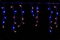 Гирлянда бахрома 200 LED 5м 0,5м, BY желто-синий K-123, 1505-62