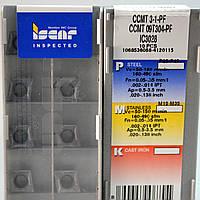 Твердосплавные пластины сменные для резцов CCMT 09T304 PF IC3028