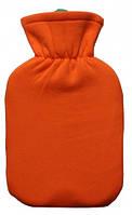 Грелка резиновая тип Ач.2 в оранжевом чехле, rv0024797