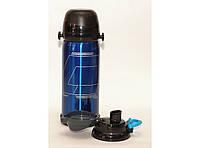 Термос T64-1, Питьевой термос, Термос с поилкой, термос с чашкой, Термос с двумя крышками, Термос для напитков