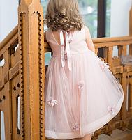 Дитяче плаття - з квітами, фото 2