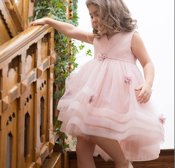 Дитяче плаття - з квітами