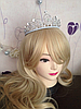 Диадема высокая корона АЛИСИЯ Тиара Виктория для волос свадебная диадема украшения, фото 10