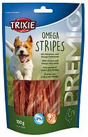 Лакомства для собак TRIXIE Premio Omega Stripes с курицей 100гр