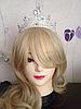 Свадебная диадема корона РУБИНА тиара украшения для волос, фото 9