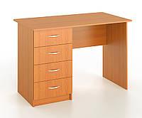 Стол письменный с 4 шухлядами, фото 1