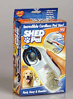 Машинка щетка для вычесывания животных SHED PAL Шед Пал