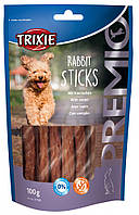 Лакомства для собак TRIXIE Premio Rabbit Sticks палочки с мясом кролика 100гр