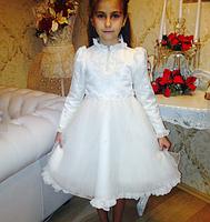 Дитяче плаття - з жабо., фото 5