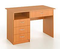 Стол письменный с 3 шухлядами и большим ящиком, фото 1
