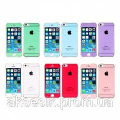 Защитное стекло Glass colour Apple Summertime iPhone 5/5s/SE без упаковки