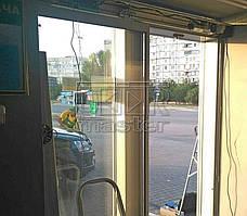 """Автоматические двери Cuppon, АЗС """"WOG"""" (г. Мариуполь) 12.09.2017 3"""