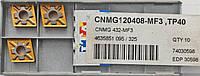Твердосплавные пластины сменные для резцов CNMG 120408 MF3, TP40