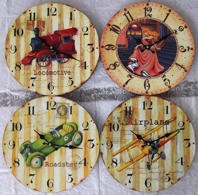 Часы настенные для детской комнаты RL-288-6