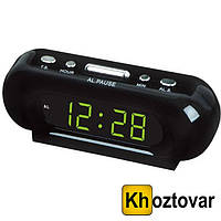 Настольные электронные часы Led Digital Clock VST 716-2 будильник