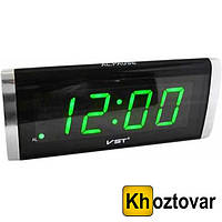 Настольные электронные часы Led Digital Clock VST 730-2 будильник