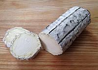 Zinka мягкий козий сыр Бюш-де-Шевр c белой плесенью в пепле  /поленце 250g/