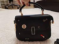 Женская красивая модная черная сумка