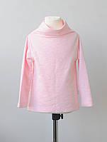 Реглан с удлиненной спинкой. Нежно-розовый. Размеры: 80-86, 86-92 см