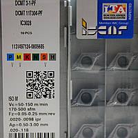 Твердосплавные пластины сменные для резцов DCMT 11T304 PF IC3028