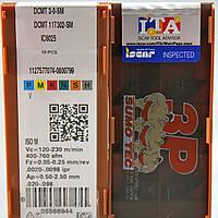 Твердосплавные пластины сменные для резцов DCMT 11T302 SM IC6025