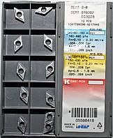 Твердосплавные пластины сменные для резцов DCMT 2-0 070202 IC3028
