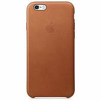 Кожаный чехол Apple Leather Case IPHONE 6/6S (Brown), фото 1