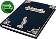 Семейная летопись с филигранью (серебро), топазами в деревянной шкатулке, фото 3