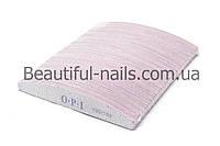 Пилка для ногтей OPI 100/150, полукруг