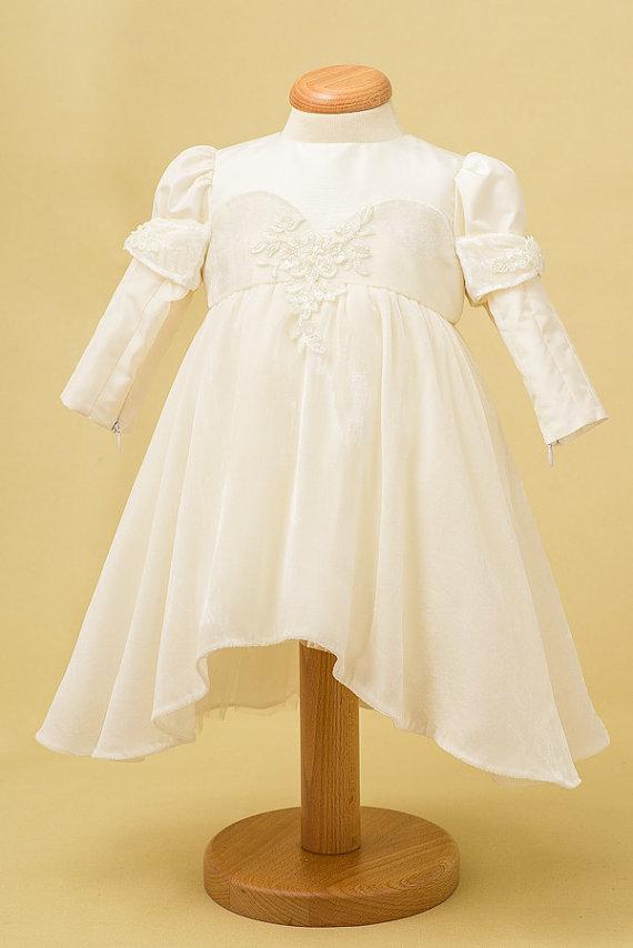 Детское платье -длинный рукав