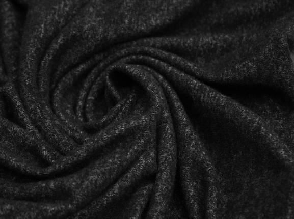 Трикотаж ангора темно- серый меланж, фото 2