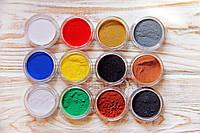 Набор пробников прочных запекаемых красок эмалей IMagic АйМеджик (12шт. набор) для полимерной глины