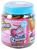 Набор фигурок Shopkins S6 серии Шеф-клуб Баночка (2 шопкинса, баночка)