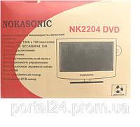 NOKASONIC NK 2204 DVD 1366x768 пикселей, широкоэкранный жидкокристаллический телевизор