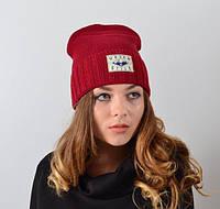 """Женская шапка """"Urban style""""."""
