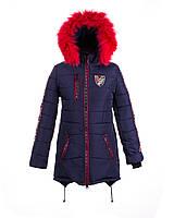 Пальто зимнее на  девочку 2018 - 1
