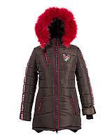 Пальто зимнее на  девочку 2018-2