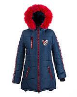 Пальто зимнее на  девочку 2018-3