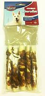 TRIXIE DentaFun - Chewing Rolls with Buffalo 70г/5шт -лакомства для собак - жевательные рулеты с мясом буйвола