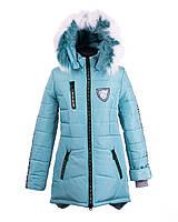 Пальто зимнее на  девочку 2018-5